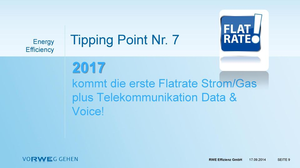 Strom/Gas plus Telekommunikation Data