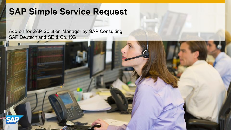 Solution Manager by SAP
