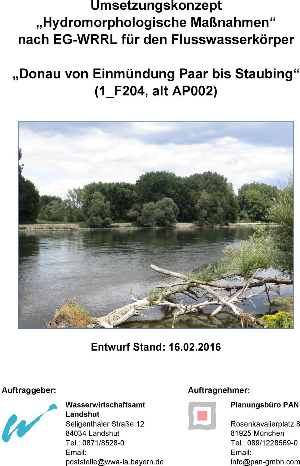 Entwurf Stand: 16.02.