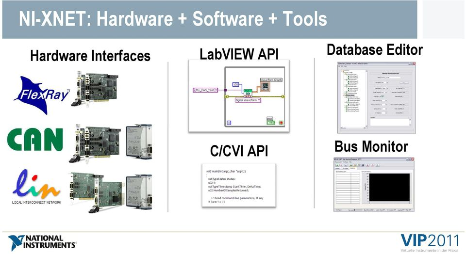 Interfaces LabVIEW API