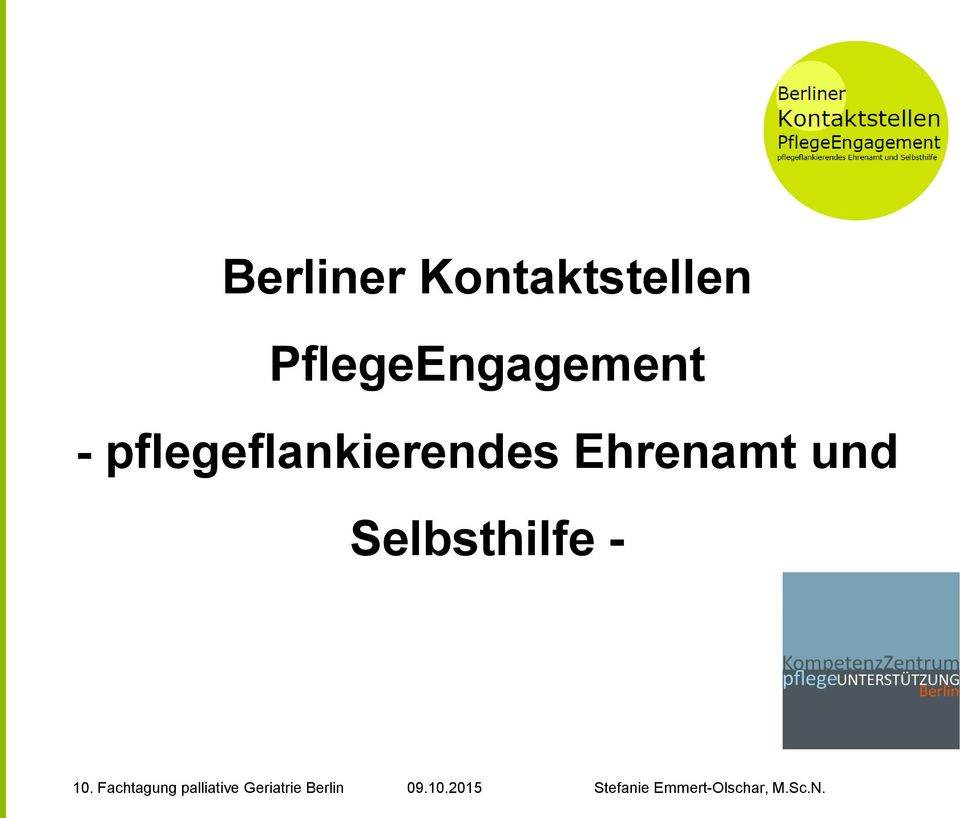 PflegeEngagement -