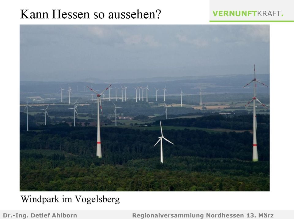 Windpark im