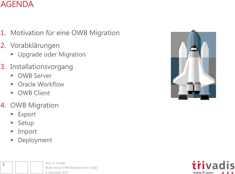 Installationsvorgang OWB Server Oracle Workflow