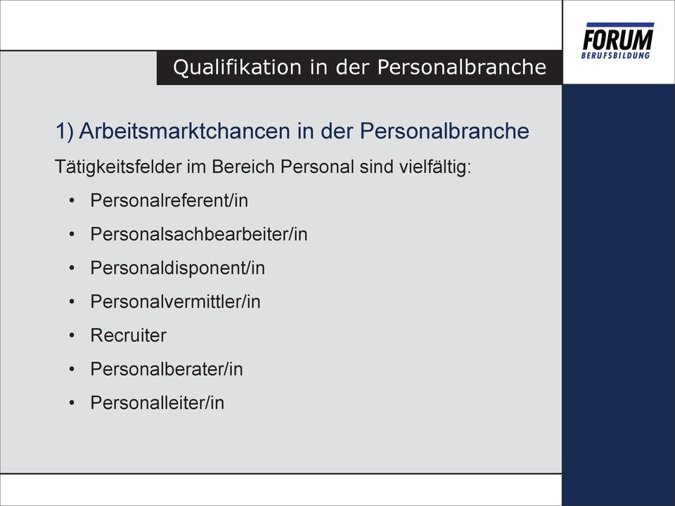 Personalreferent/in Personalsachbearbeiter/in