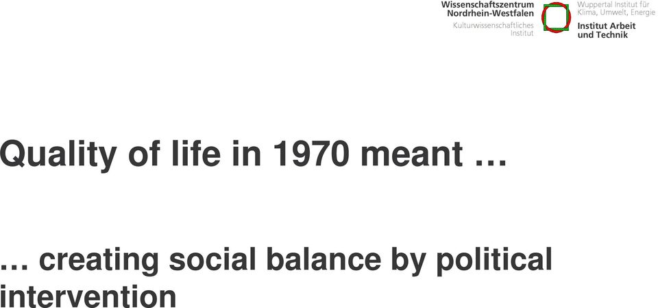 social balance by