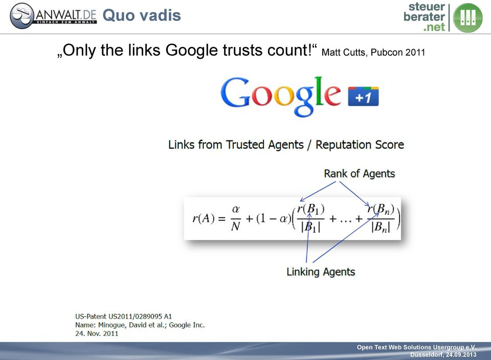 trusts count!