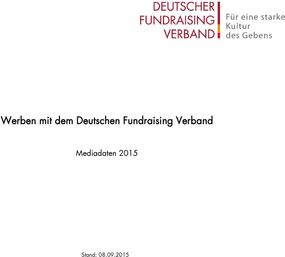 Fundraising Verband