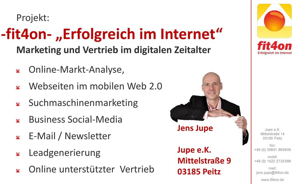 0 Suchmaschinenmarketing Business Social-Media E-Mail / Newsletter