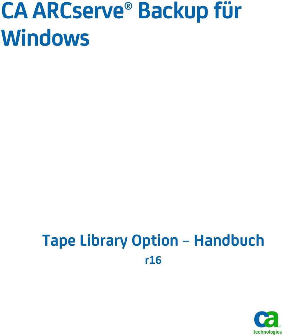 Windows Tape