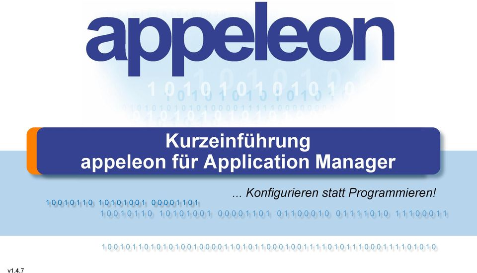 Application Manager.