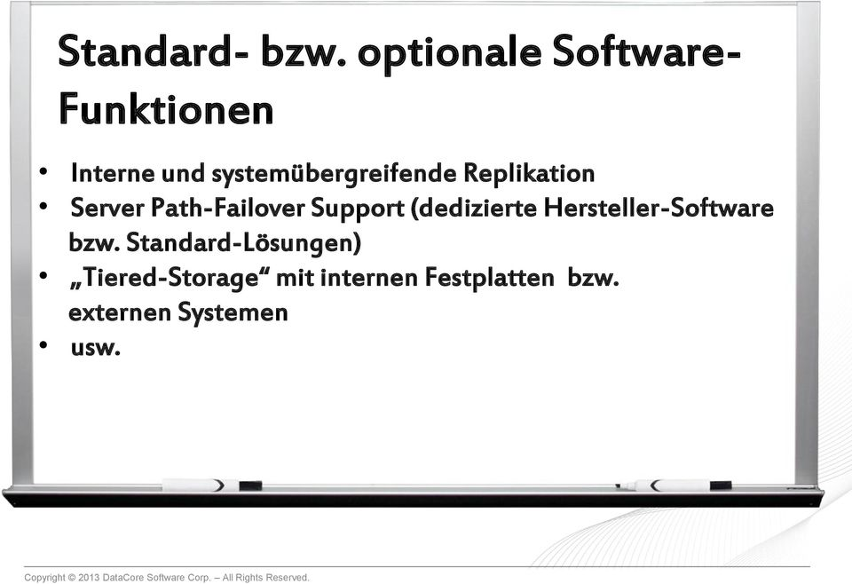 systemübergreifende Replikation Server Path-Failover Support