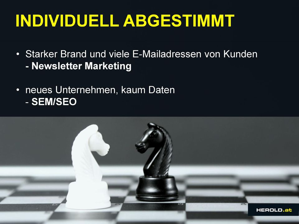 von Kunden - Newsletter Marketing