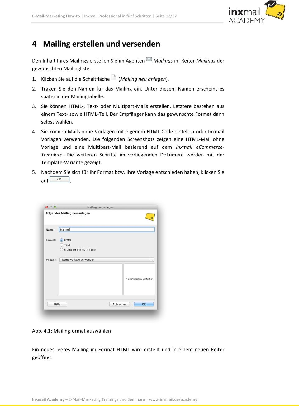 How- to. E- Mail- Marketing How- to. Inxmail Professional 4.3 in ...
