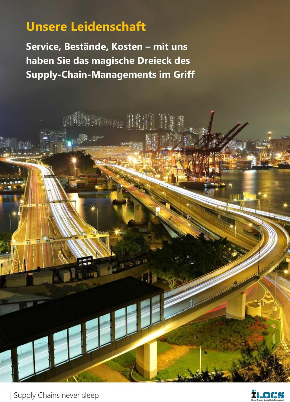 Dreieck des Supply-Chain-Managements
