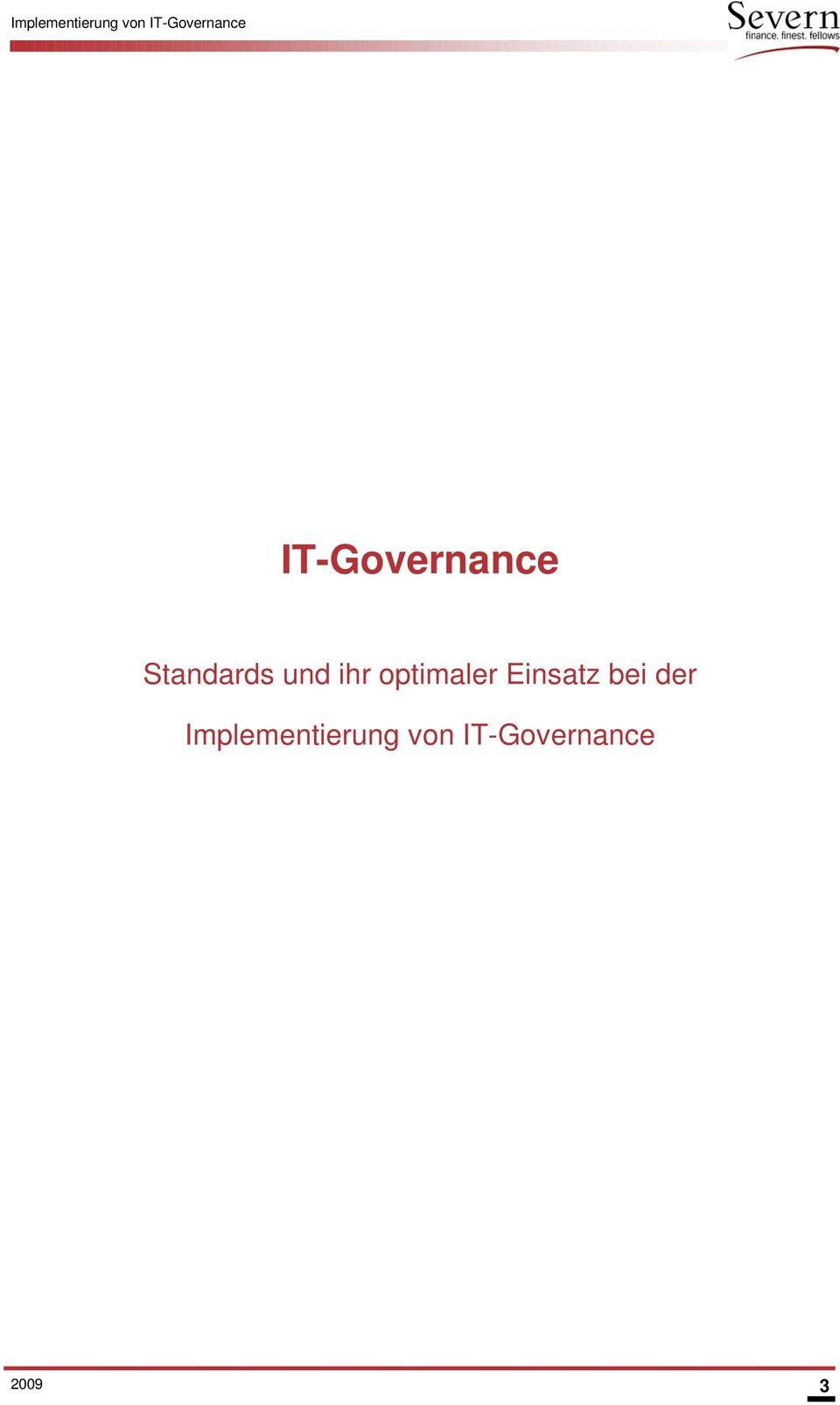 Standards und ihr optimaler