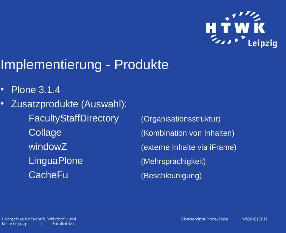 windowz LinguaPlone CacheFu (Organisationsstruktur)