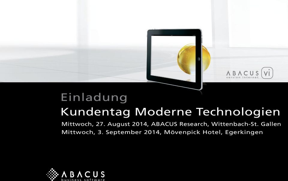 August 2014, ABACUS Research,