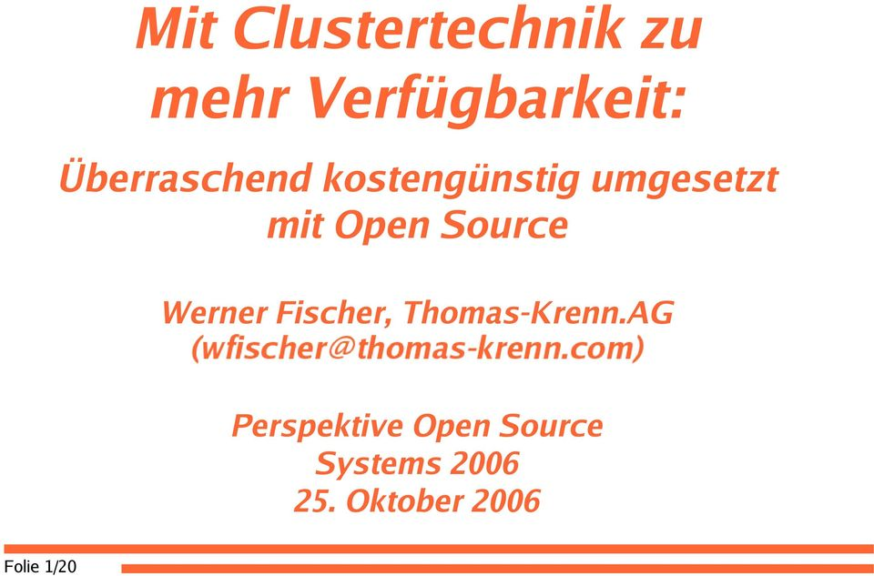 Source Werner Fischer, Thomas-Krenn.