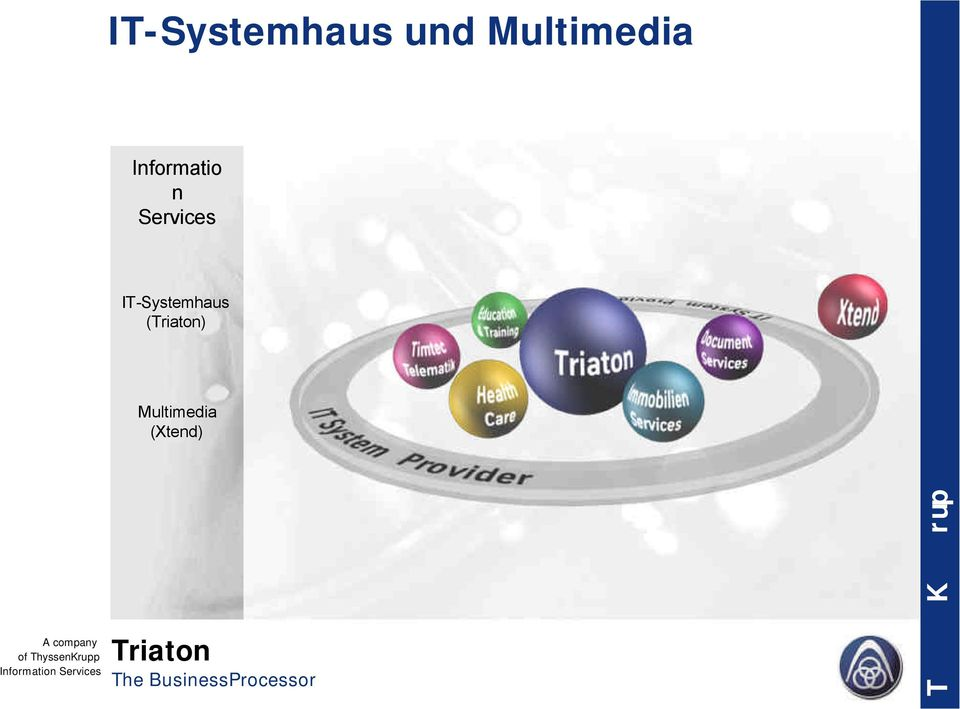 Services IT-Systemhaus ()