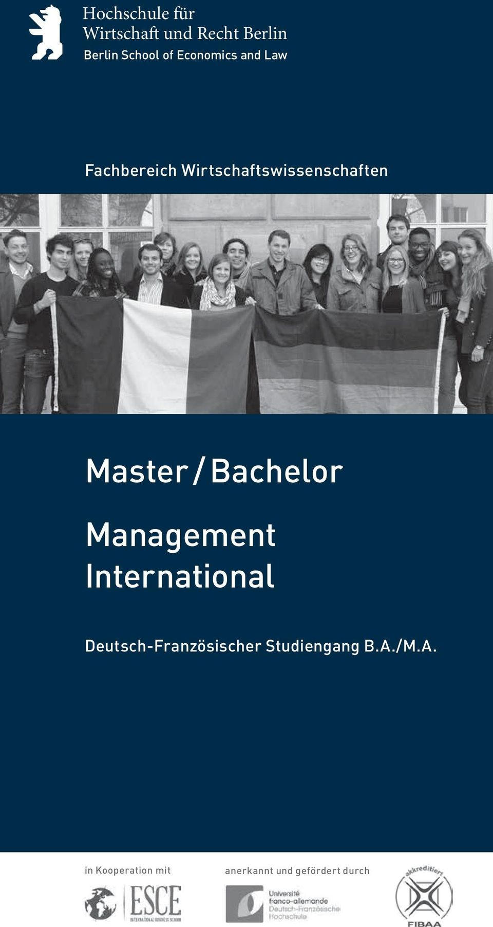 / Bachelor Management International Deutsch-Französischer