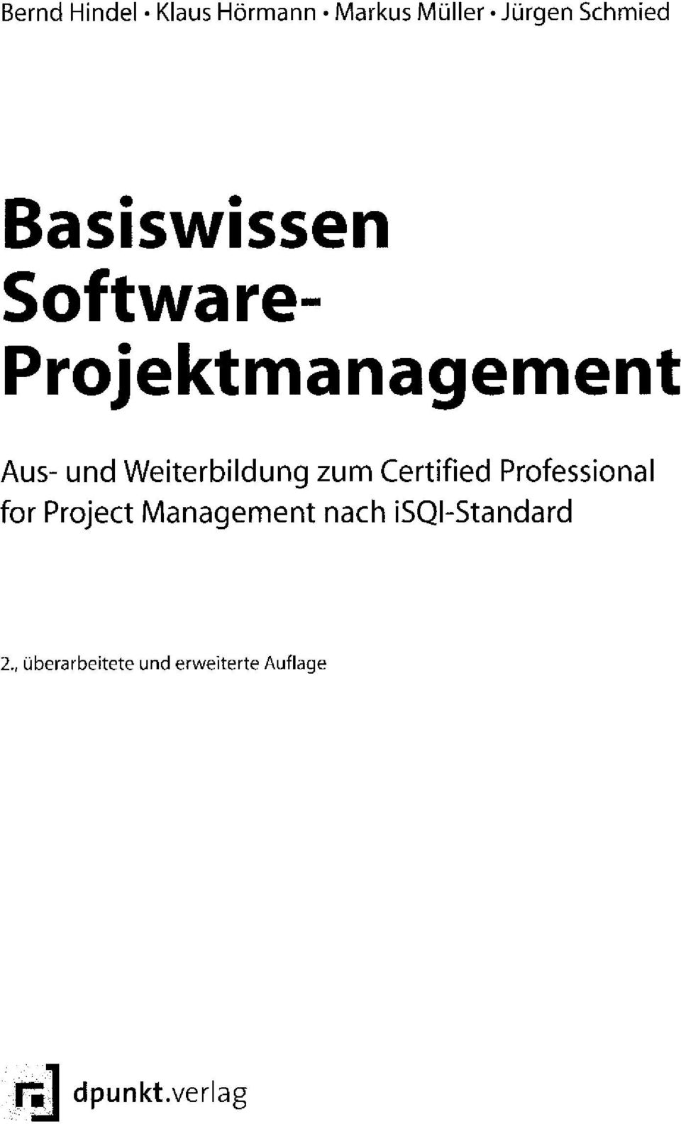 Weiterbildung zum Certified Professional for Project