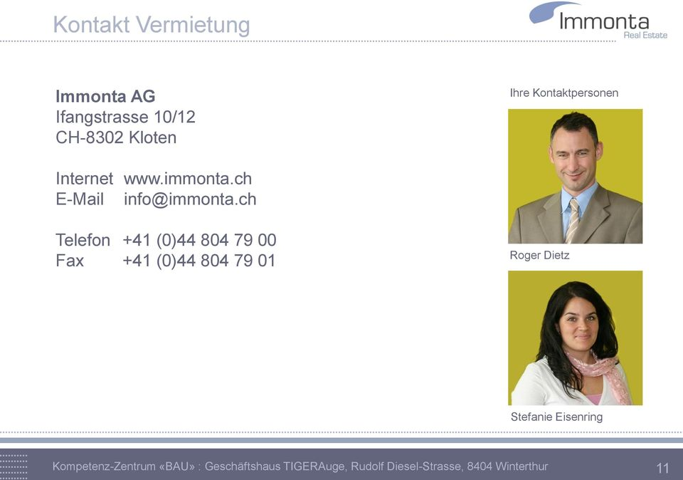 immonta.ch E-Mail info@immonta.