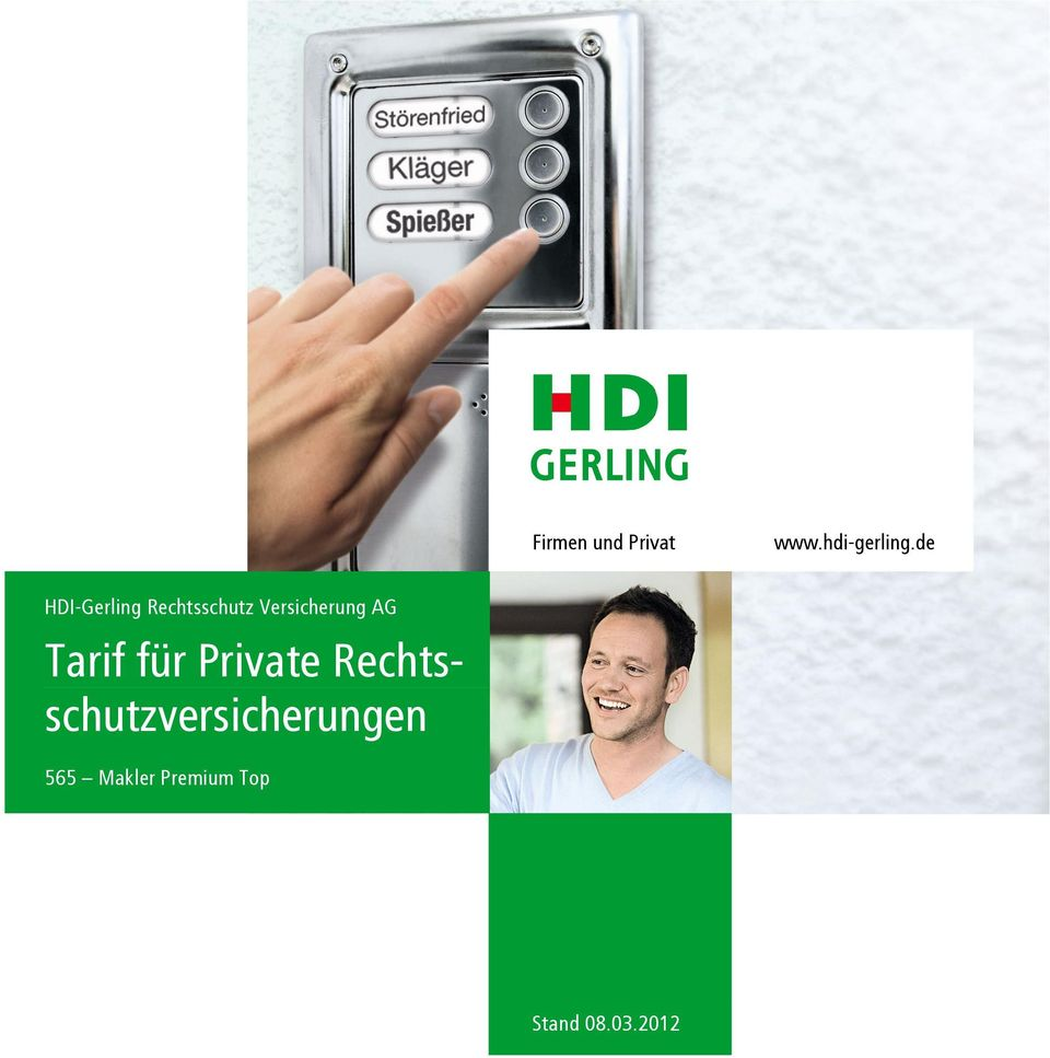 AG Tarif für Private