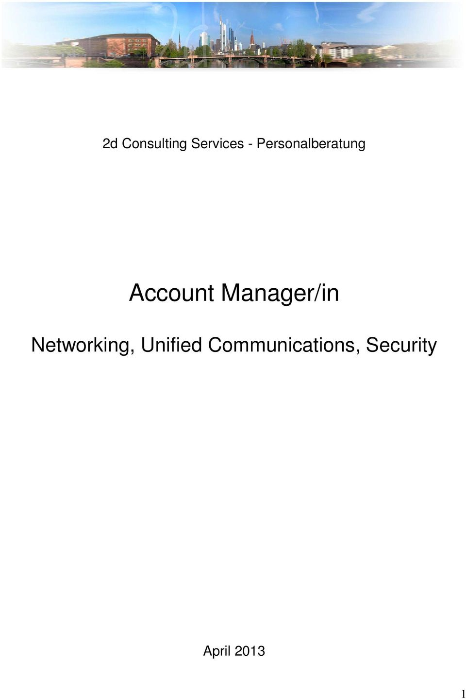 Manager/in Networking,