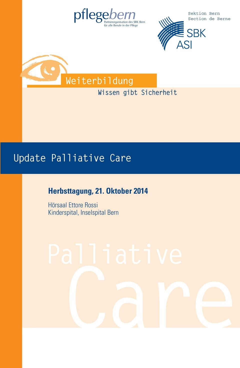 Palliative Care Herbsttagung, 21.