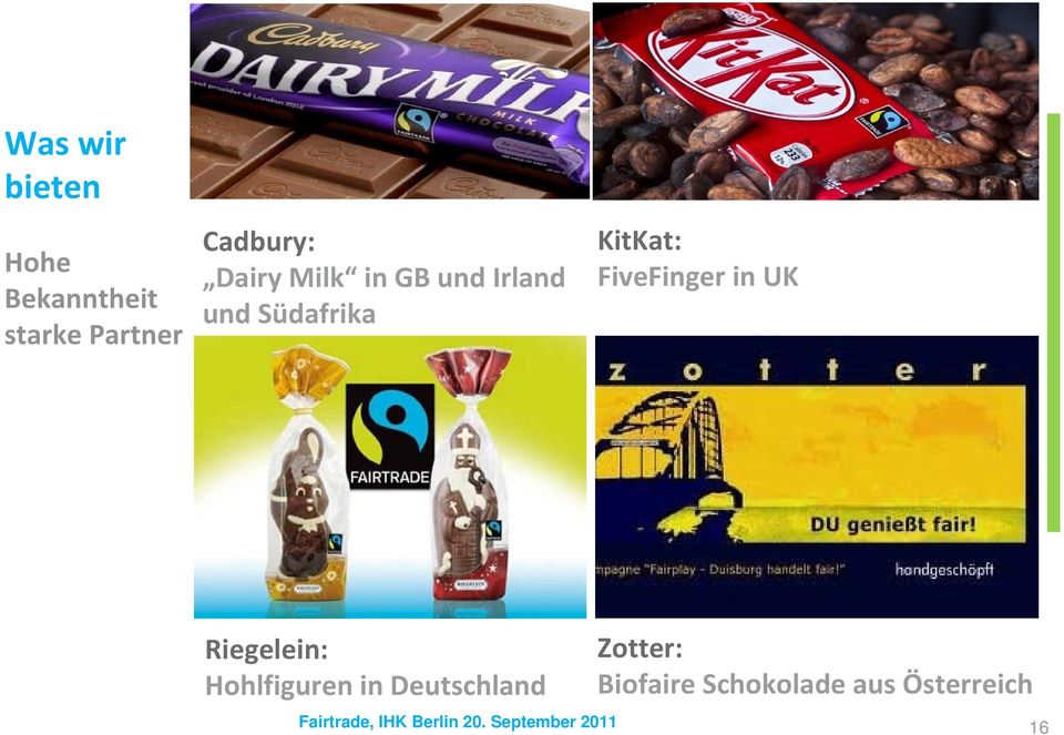 KitKat: FiveFinger in UK Riegelein: Hohlfiguren in