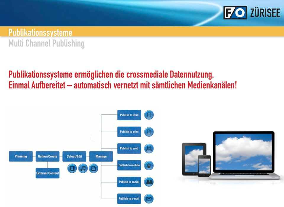 crossmediale Datennutzung.