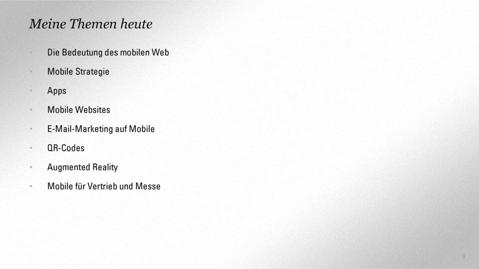 Websites E-Mail-Marketing auf Mobile