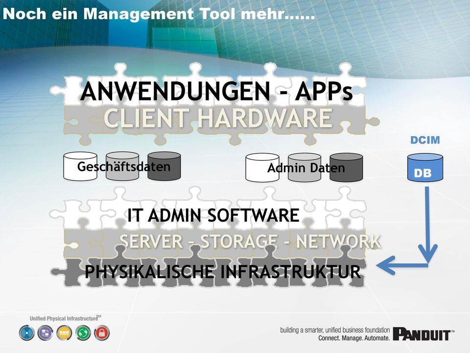 Admin Daten DCIM DB IT ADMIN SOFTWARE