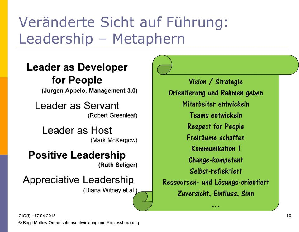 Leadership (Diana Witney et al.