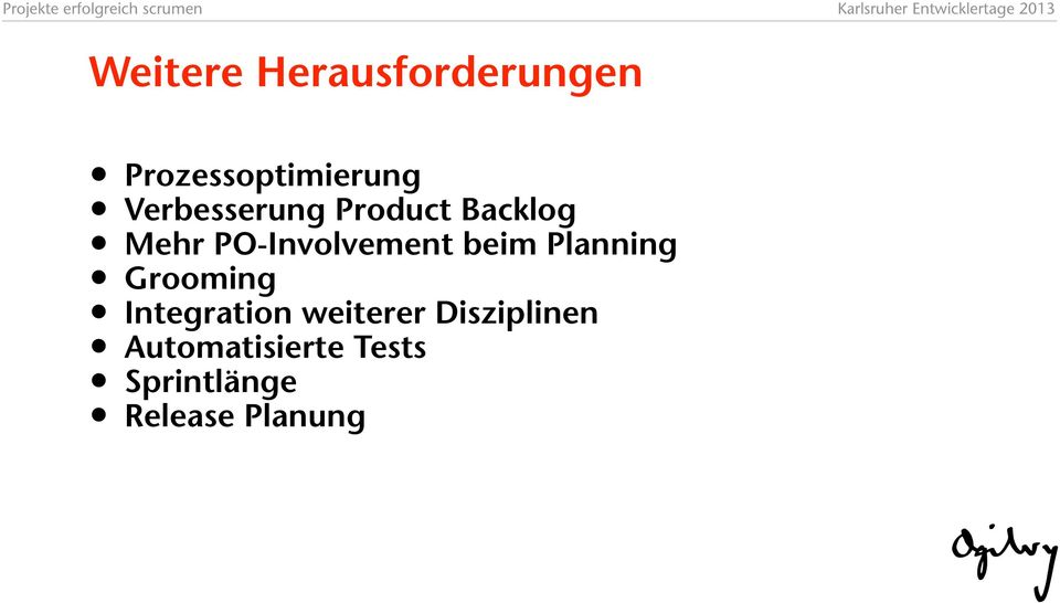 beim Planning Grooming Integration weiterer