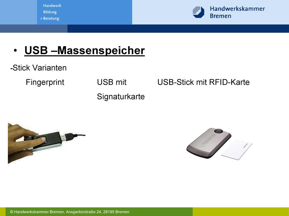 Fingerprint USB mit