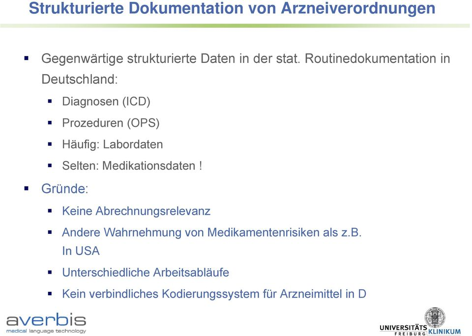 Medikationsdaten!