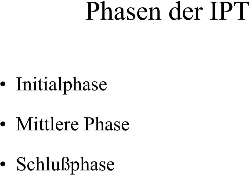Initialphase