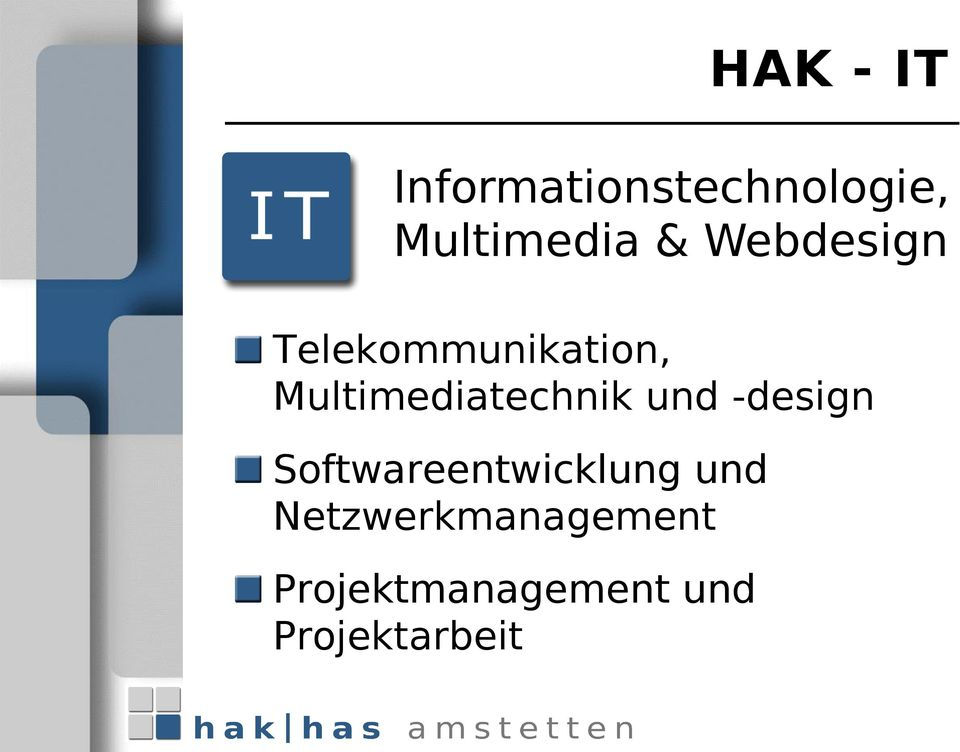 Multimediatechnik und -design