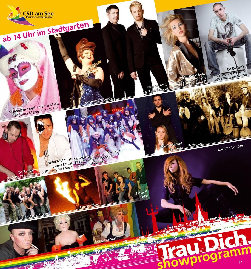 (CSD-Party im Konzil) DJ Rainbow (CSD-Party im Konzil) Mike Melange,Sony Music Schwestern vom Orden der Perpetuellen