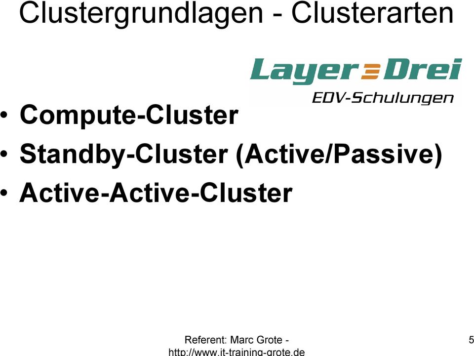 Compute-Cluster