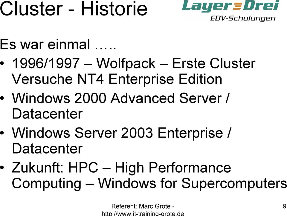 Edition Windows 2000 Advanced Server / Datacenter Windows