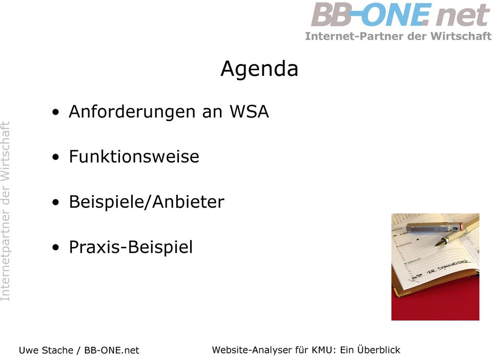 WSA Funktionsweise
