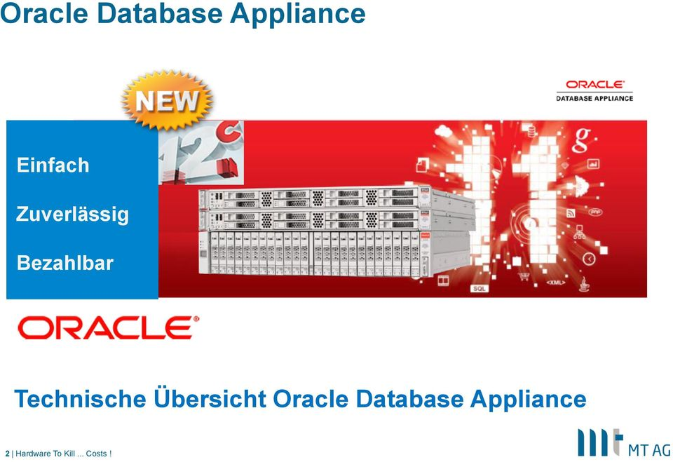 Übersicht Oracle Database