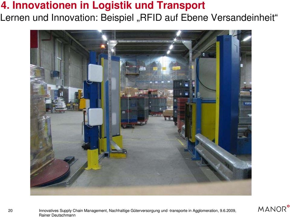 Innovatives Supply Chain Management, Nachhaltige