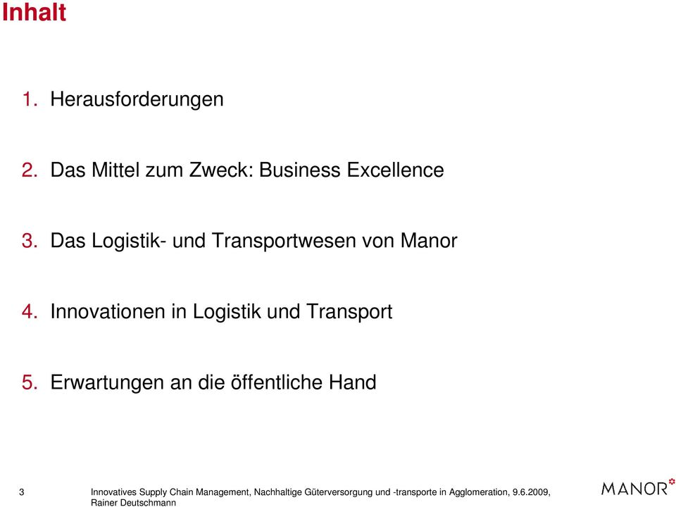 Innovationen in Logistik und Transport 5.