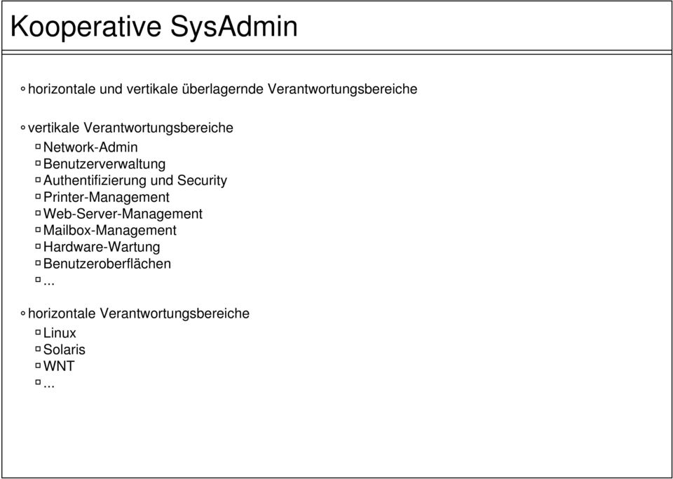 und Security Printer-Management Web-Server-Management Mailbox-Management