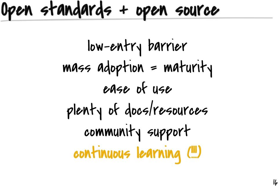 docs/resources community support continuous learning (!