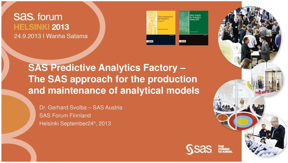 analytical models Dr.