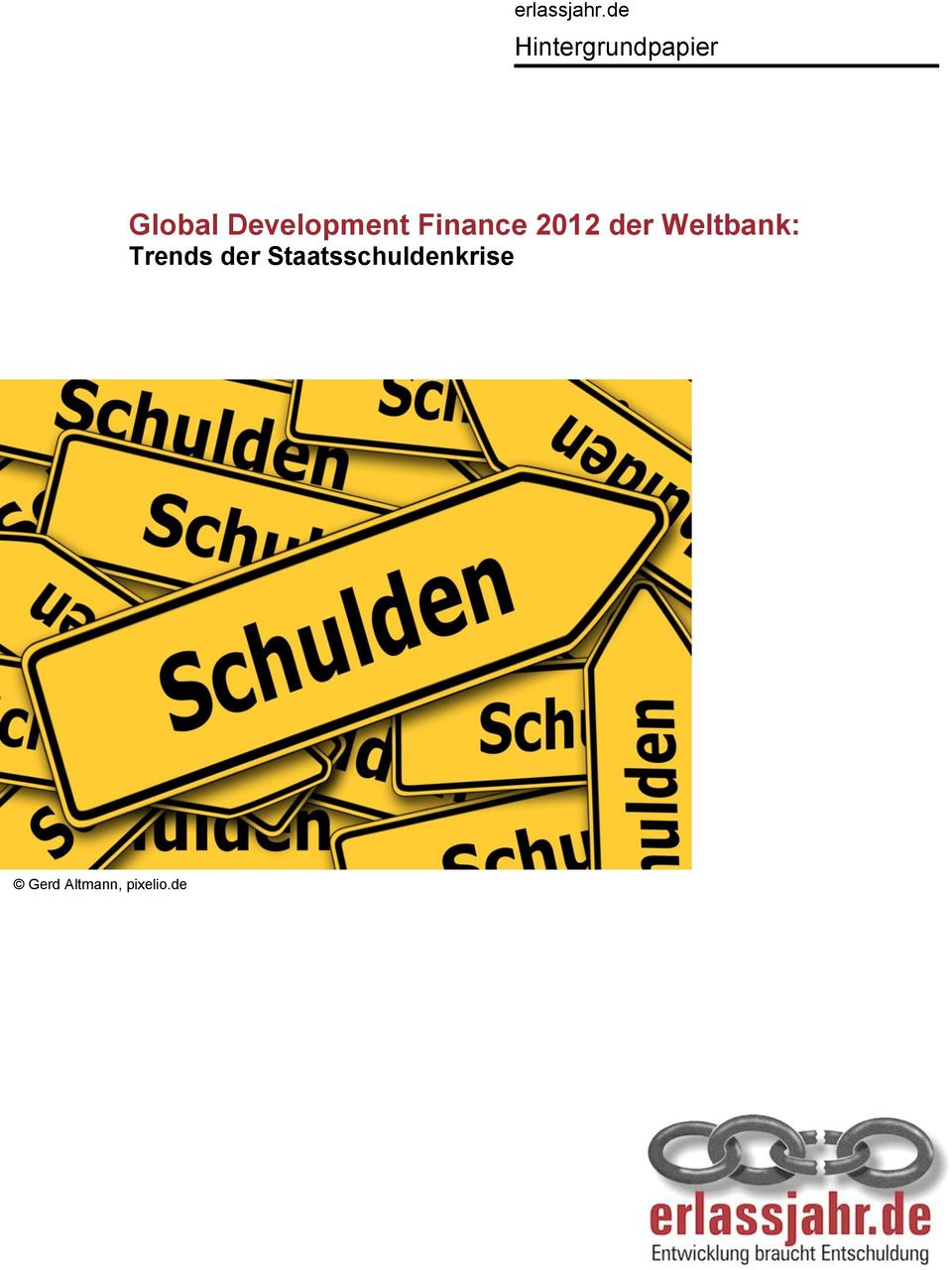 Development Finance 2012 der